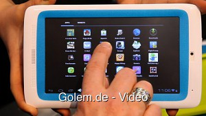 Archos Child-One-Tablet - Hands on (Cebit 2012)