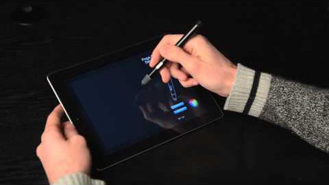 iPad Stift Blue Tiger von Ten One Design