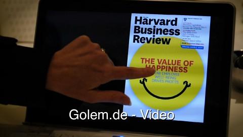 Intels Referenzdesign für Ultrabooks mit Touchscreen (Cebit 2012)