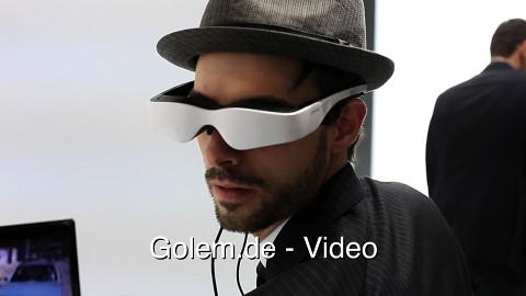 Battlefield 3 mit Cinemizer OLED (Cebit 2012)