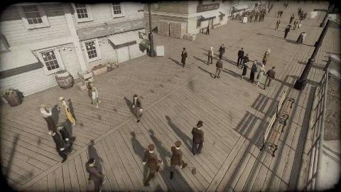 Omerta - City of Gangsters - Teaser