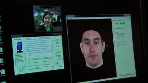 Microsoft zeigt virtuelle Person mit eigener Stimme