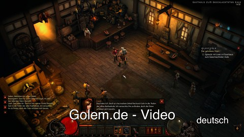 Diablo 3 Beta - Vergleich (deutsch, englisch)