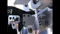 Weltraumroboter Dextre durchschneidet Kabel