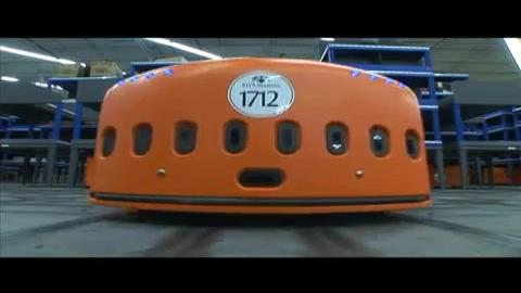Lager-Roboter von Kiva Systems - Trailer