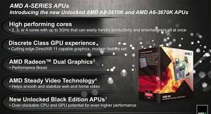 AMD stellt seine Serie-A-APUs vor