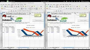 Libreoffice Calc - gemeinsames Editieren