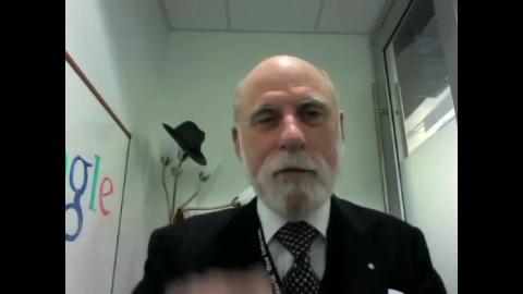 Vint Cerf über 20 Jahre Internet Society
