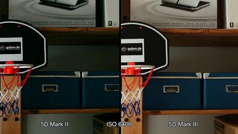 ISO-Vergleich 5D Mark II und Mark III