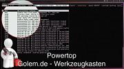Golem.de - Werkzeugkasten - Powertop 1.97