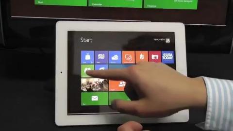 Windows 8 läuft auf dem iPad
