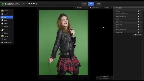 Greenscreening mit Photokey 5