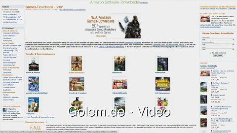 Neue Downloadshops bei Amazon