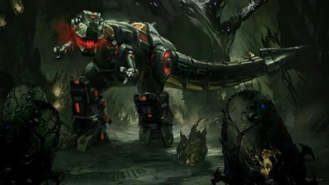 Transformers Untergang von Cybertron - Grimlock