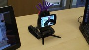 Smartphone-Roboter Oddwerx zeigt Videostream