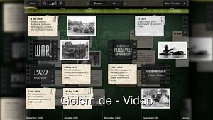 Timeline World War 2 für iPad ausprobiert