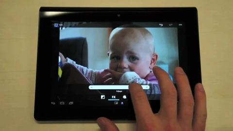 Neue Funktionen mit Android 4.0 für Sony Tablet S