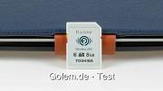 Toshiba-Flashair-SD-Karte mit WLAN - Test