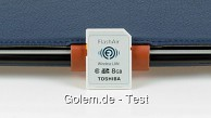 Toshiba-Flashair-SD-Karte mit WLAN - Test