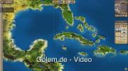 Port Royale 3 - Gameplay vom Spielbeginn