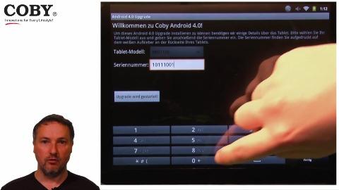 Update auf Android 4 für Coby-Tablets