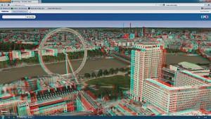 Nokia Maps 3D WebGL für 3D-Brillen