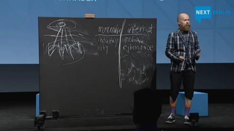Alexander Bard Keynote auf der Next 2012
