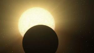 Spitzer fängt Infrarotstahlung von Supererde 55 Cancri e auf