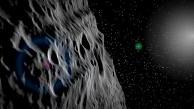 Virtueller Flug über den Asteroiden Vesta