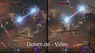 Diablo 3 - Vergleich der Grafikstufen in 1080p