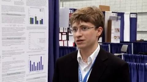 Nicholas Schiefer gewinnt Young Scientist Award