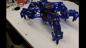 Hexy - sechsbeiniger Open-Source-Roboter (Kickstarter)