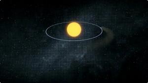 Kepler entdeckt sich auflösenden Exoplaneten