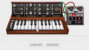 Der Goog - Moog-Synthesizer von Google zum Selberspielen