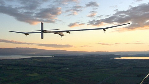 Solar Impulse - Demonstrationsflug 2012
