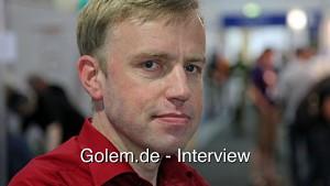 Johannes Loxen auf dem Linuxtag 2012