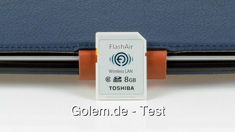Toshiba Flashair SD-Card with Wi-Fi - Review