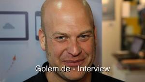 Frank Karlitschek auf dem Linuxtag 2012