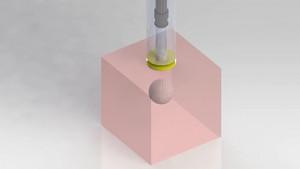 Spritze ohne Nadel mit Magnetantrieb
