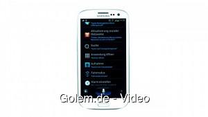 Samsung Galaxy S3 - Spracheingabe ausprobiert
