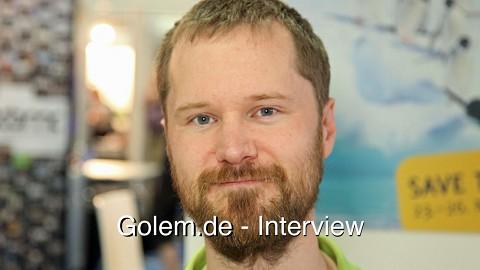 Michael Meeks auf dem Linuxtag 2012