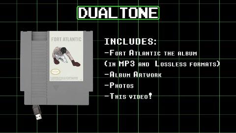 Musiker Fort Atlantic über NES-Speichermedium