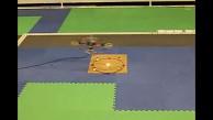 Drohne übertragt drahtlos Strom