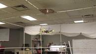 Drohne lässt Lampe leuchten