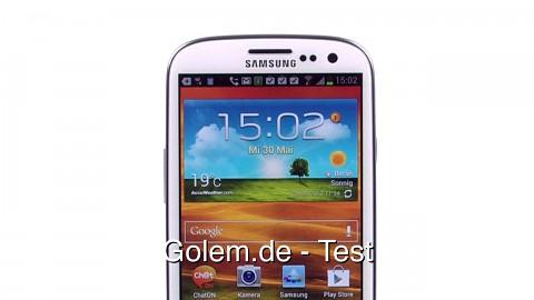 Samsung Galaxy S3 - Test