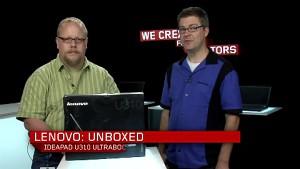 Lenovo Ultrabook U310 - Unboxing des Herstellers