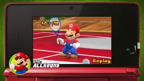 Mario Tennis Open - Trailer (3DS, Launch)