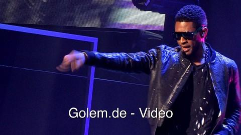 Usher singt und tanzt für Dance Central 3 (E3 2012)