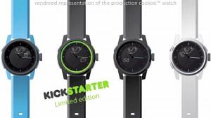 Smartwatch Cookoo informiert mit Symbolen