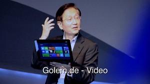 Asus Taichi - Pressekonferenz (Computex 2012)